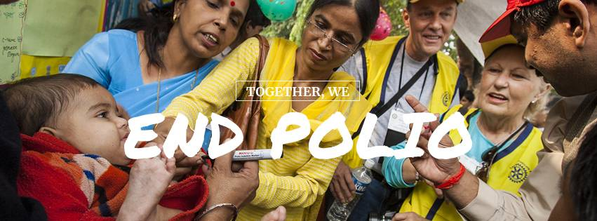 Rotary fights polio