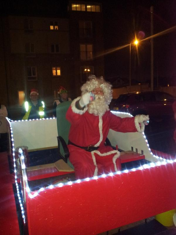 Santa and Our Sleigh
