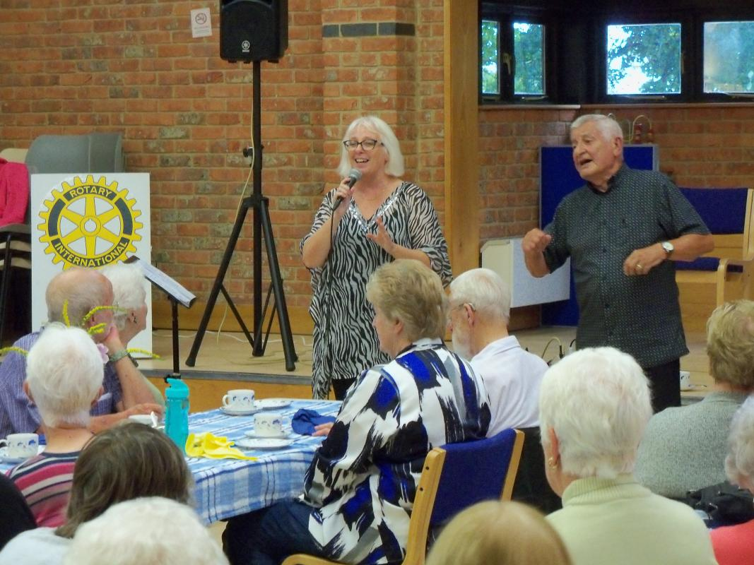 Senior Citizens Light Lunch & Afternoon Tea  - Friday 27th September 2019