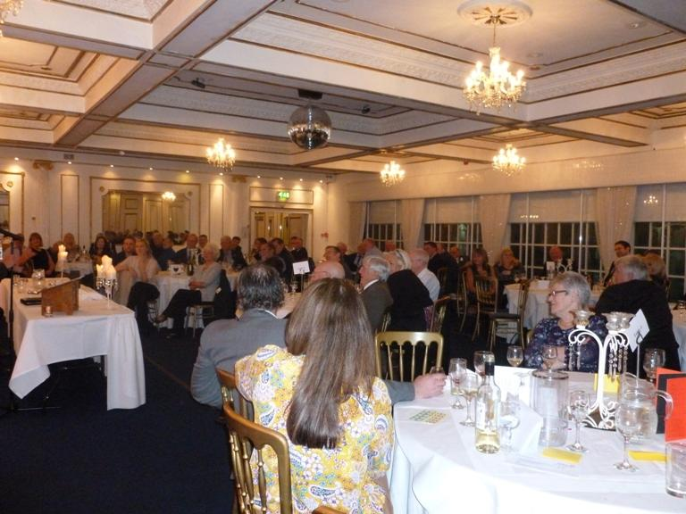 21st Annual Sporting Dinner - 4th November 2016 - Dalmeny Park Hotel - Guests enjoying a great evening of entertainment and FUNdraising