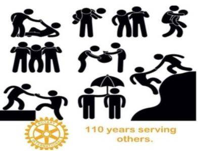 Rotary is 110 years old this year -
