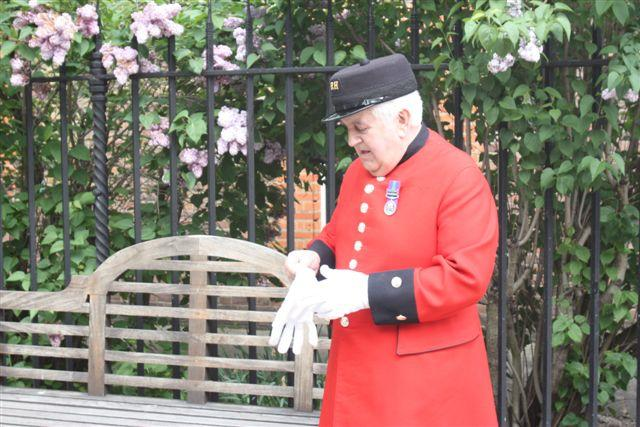 Visit to The Royal Chelsea Hospital - 12 May 2010 -