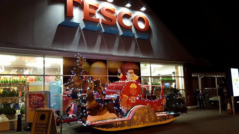Christmas Float -