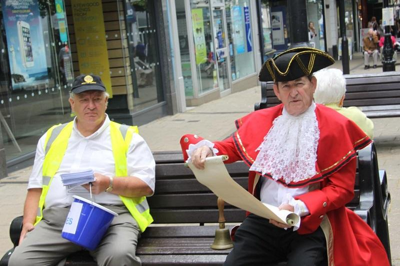 Recent Events - Promoting the Family Fun Day in town