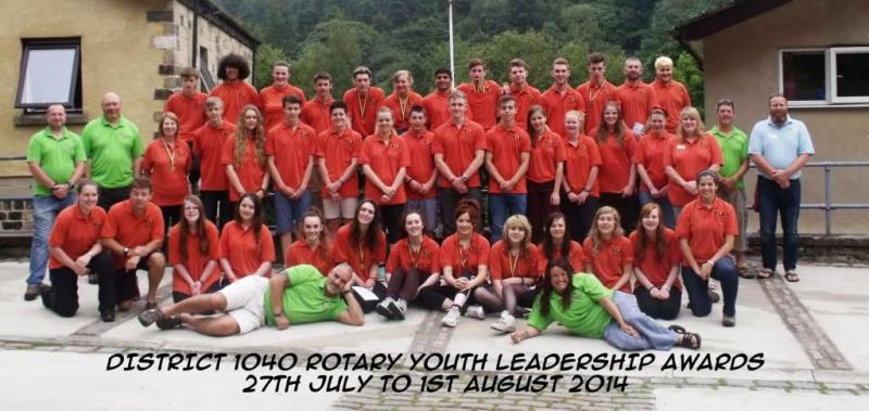 Rotary Youth Leadership Awards (RYLA) - RYLA awardees after completing their course