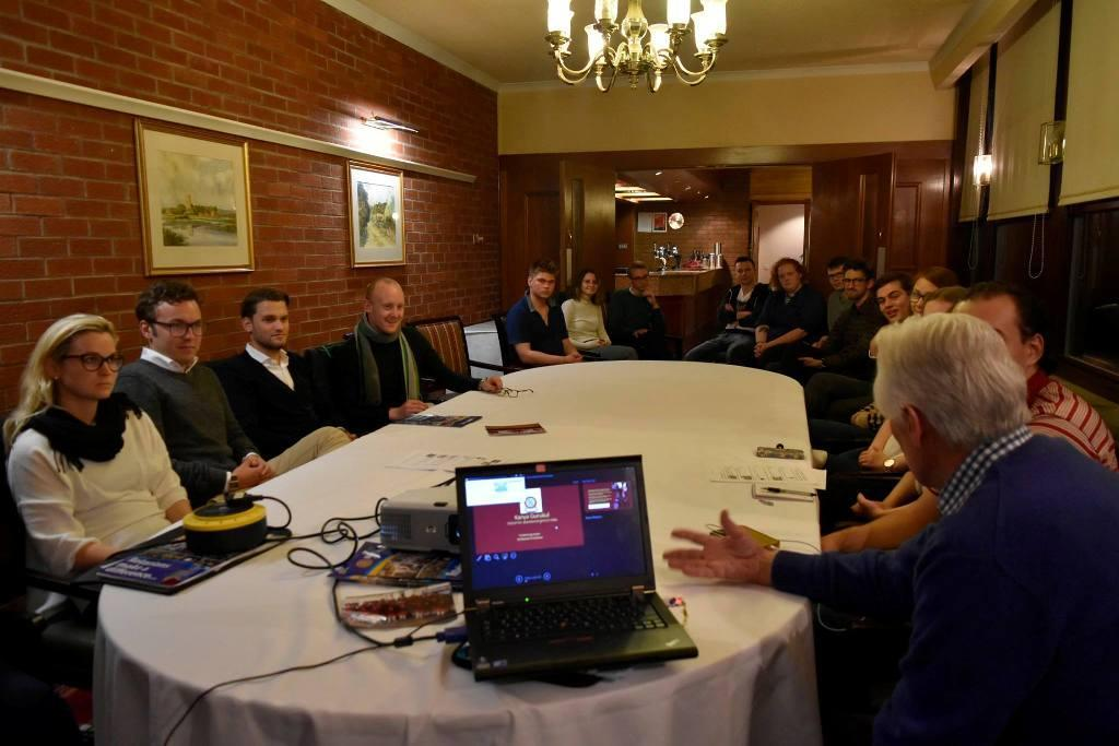Presentation to Rotary Club of St Andrews -