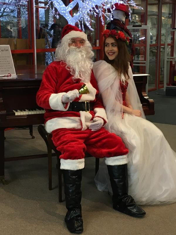 Visit Father Christmas Grotto at Labels Store from 10am-4pm