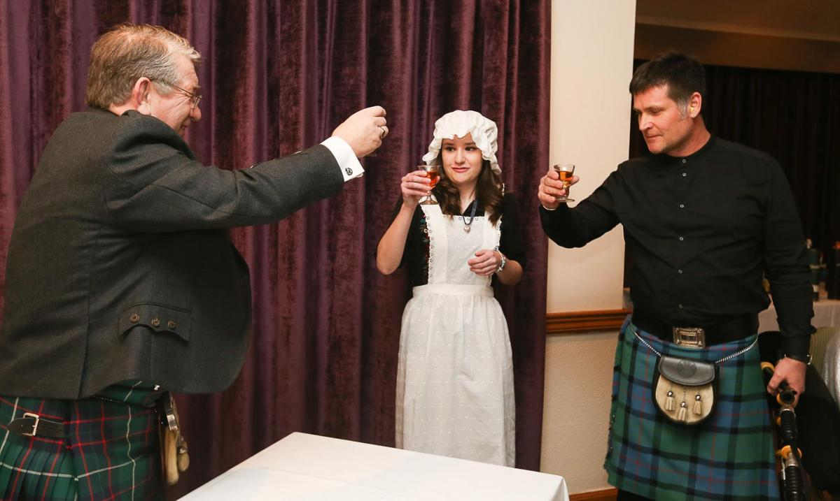 Burn Supper 2017 - A Toast To The Haggis