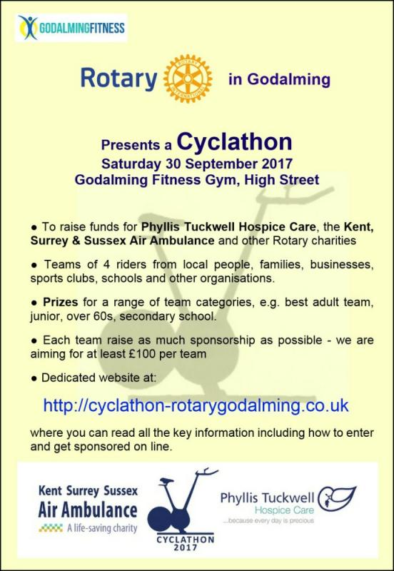 Cyclathon Flyer