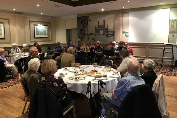 Elderly People's Outing -