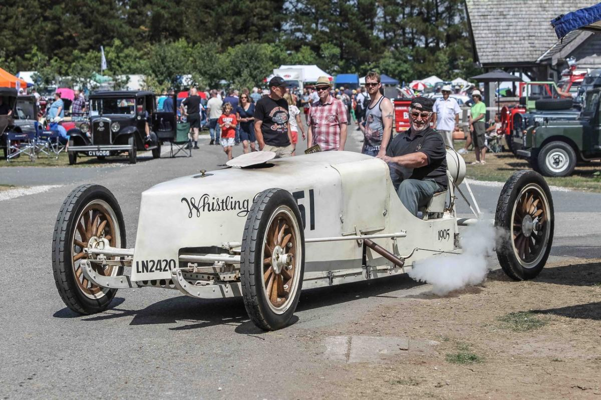 The Best Ever. - A 1905 racing steam car