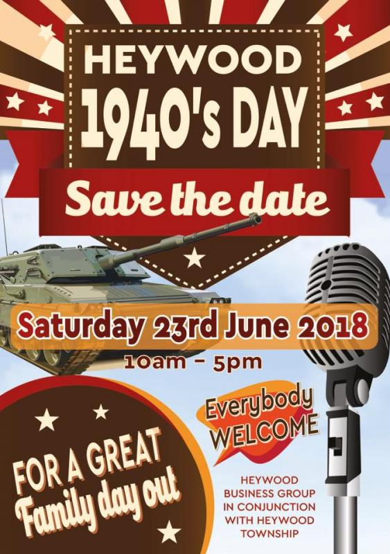 Heywood 1940s Day 2018