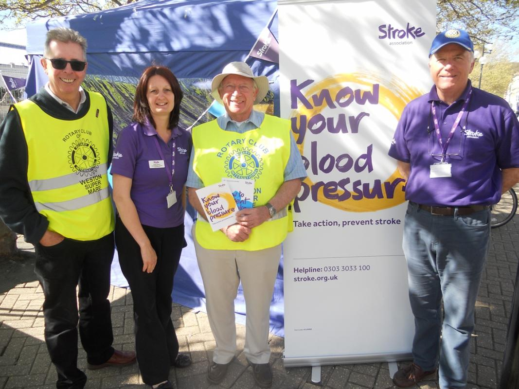 Weston Town Centre, Blood Pressure Day