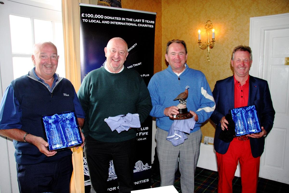 Winners of Am-Am Golf Day 2016