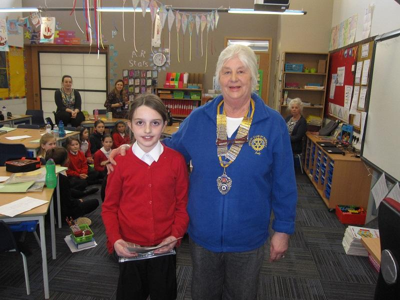 Rotary Young Writer's Awards -