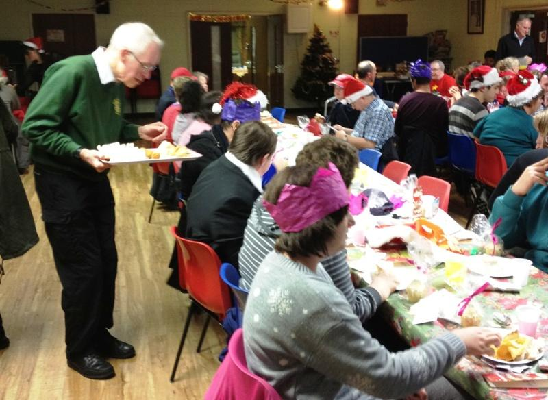 West Berkshire Mencap Gateway Club Christmas Party - Christmas party for Newbury Mencap Gateway Club