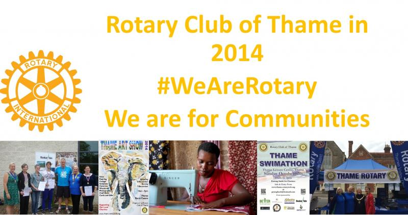 Thame Rotary in 2014
