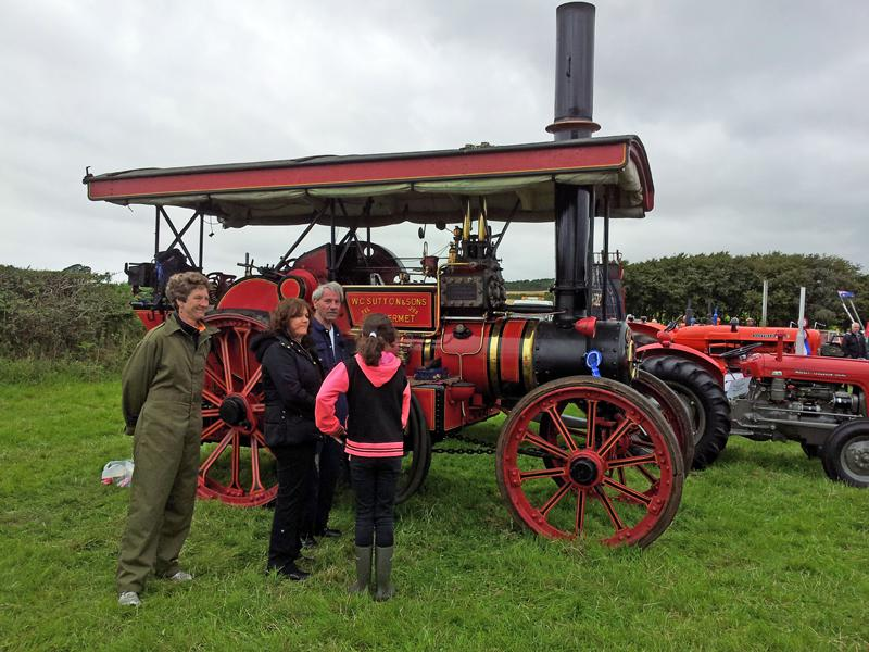 201408 Gosforth Show - A Steaming Success