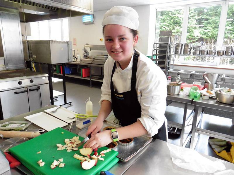 Rotary Young Chef 2015-16 Regional Final March 2016 - Megan McDonagh in the Regional Final
