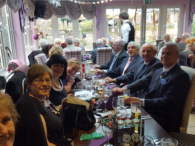 Christmas Lunch at Launay's Edwinstowe - A very enjoyable lunch with fellow Rotarians, partners and friends