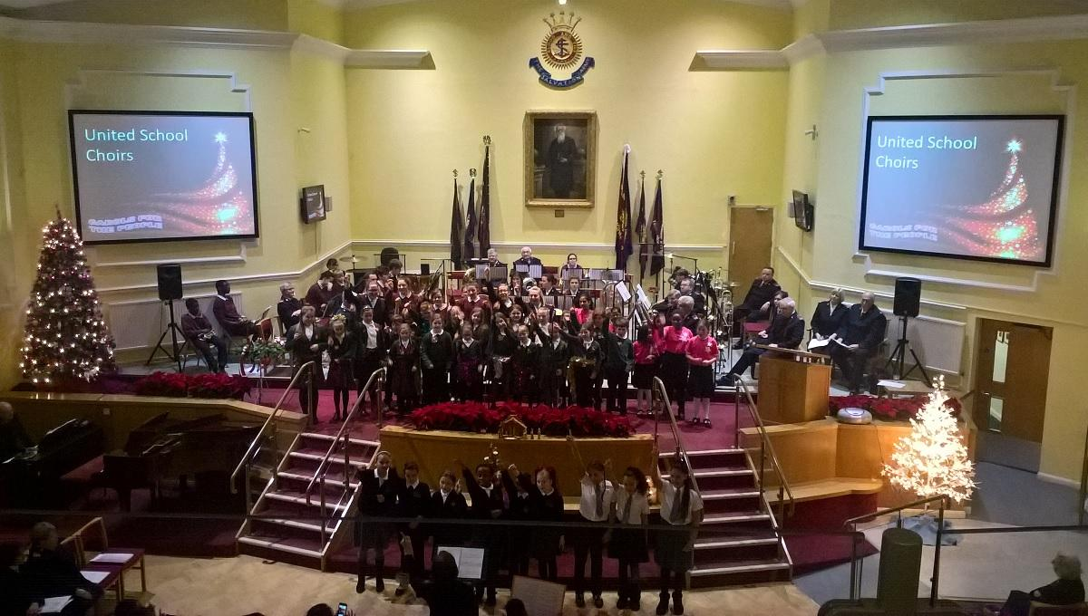 Carols for the People - Carol Concert at William Booth Memorial Halls