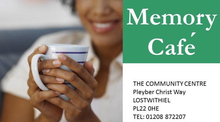 The Lostwithiel Memory Café is a happy place where people can share memories, ideas and provide mutual support, as well as sharing tea and cake! All guests have the opportunity to access advice, guidance and information, but most importantly have fun!