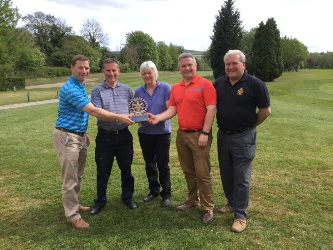 2017 Golf Day Winners