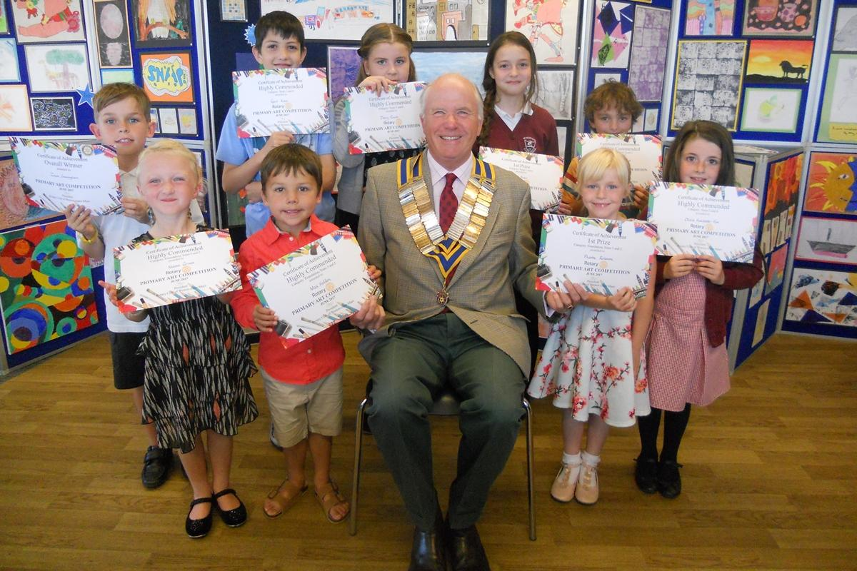 Rotary Primary Arts Competition - 2017 Winners