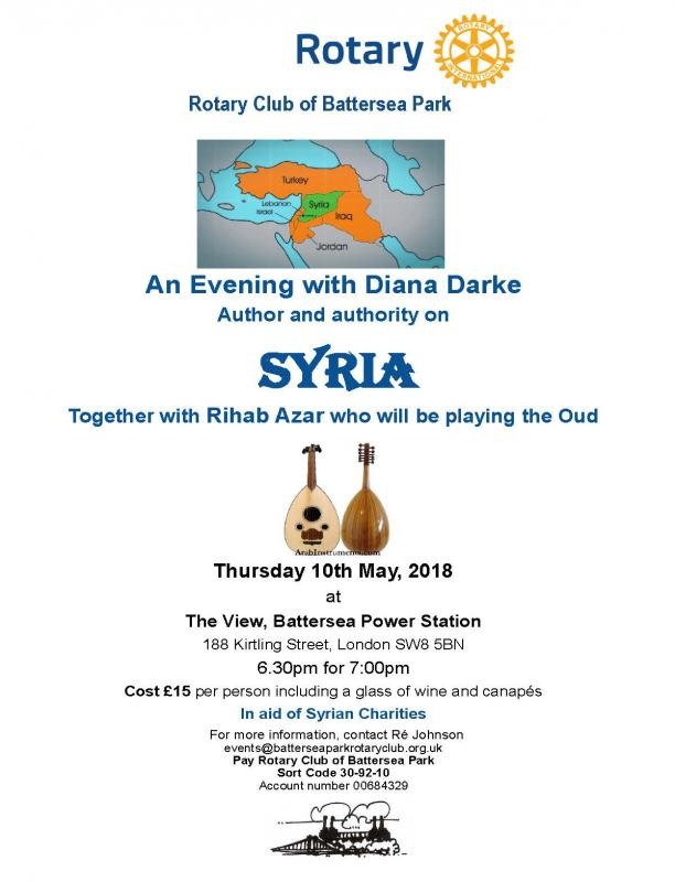 An Evening with Diana Darke -