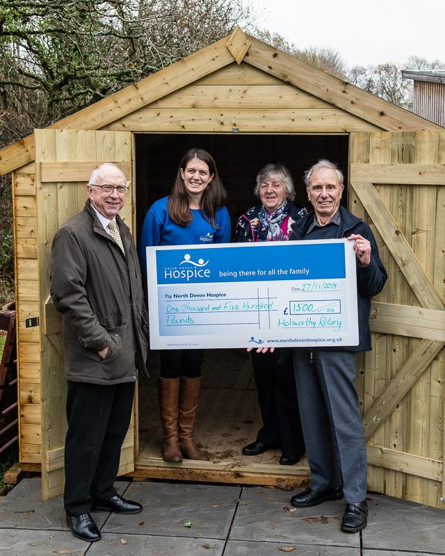 Holsworthy Rotary supports The Long House - Rotary Club of Holsworthy