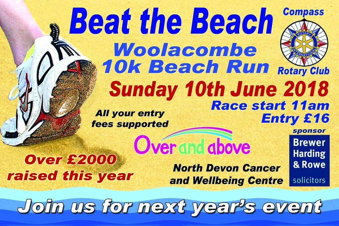 Woolacombe 10k Beach Run 2018 -
