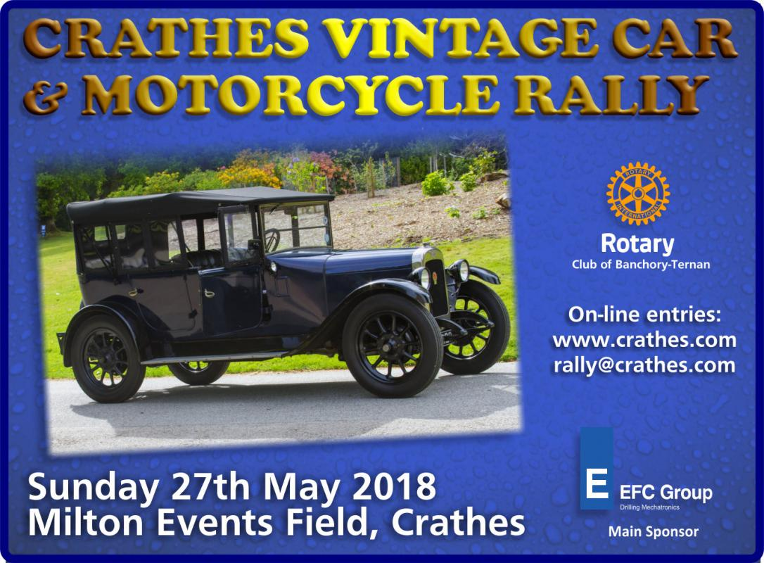 2018 Crathes Vintage Car and Motorcycle Rally -