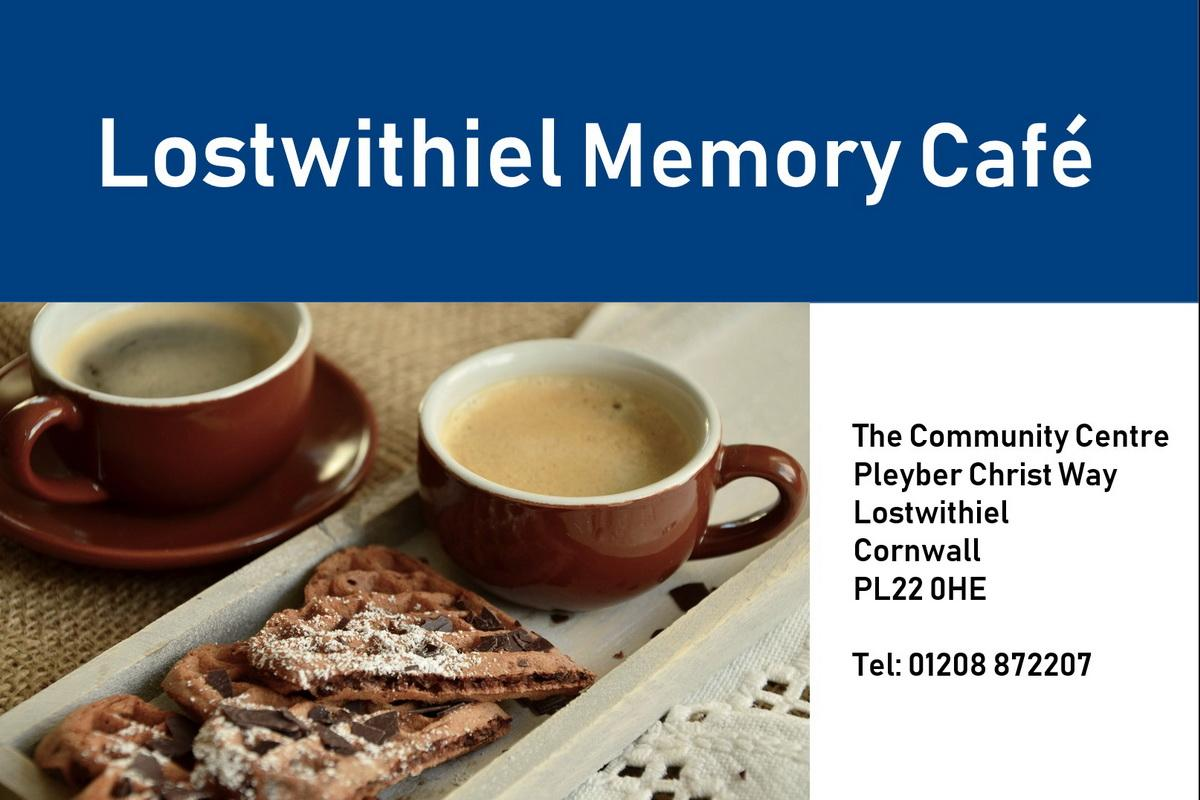 The Lostwithiel Memory Cafe is a happy place where people can share memories, ideas and provide mutual support, as well as sharing tea and cake! All guests have the opportunity to access advice, guidance and information, but most importantly have fun!