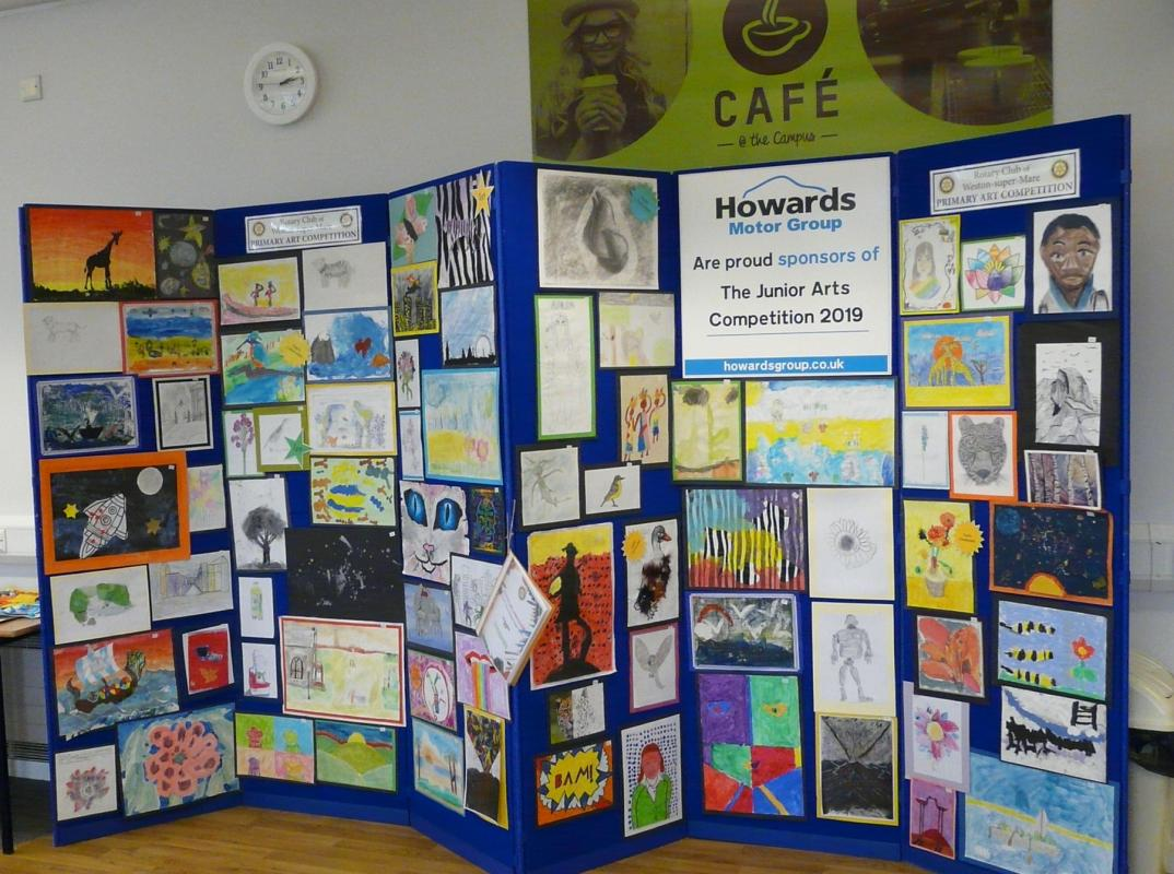 Rotary Primary Arts Competition - We organise an annual Primary Schools Art Competition, the children are so talented