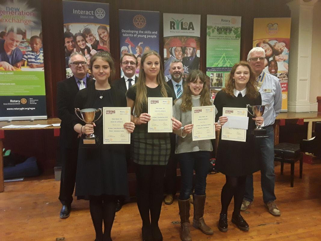 Young Musician - District Winners and Runners-up