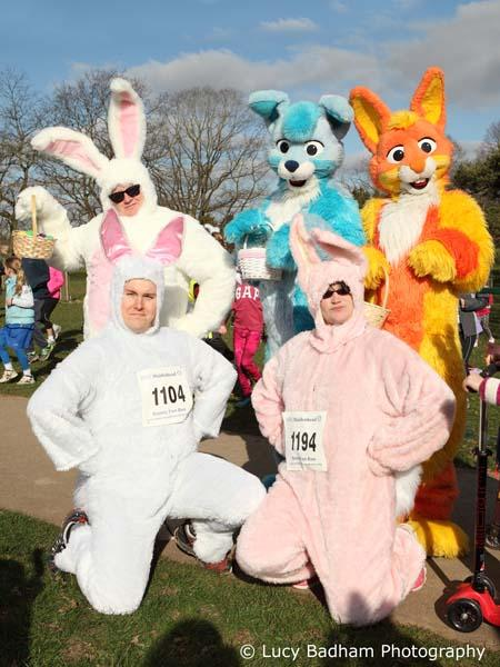 Bunnies in Suits @Maidenhead Thames