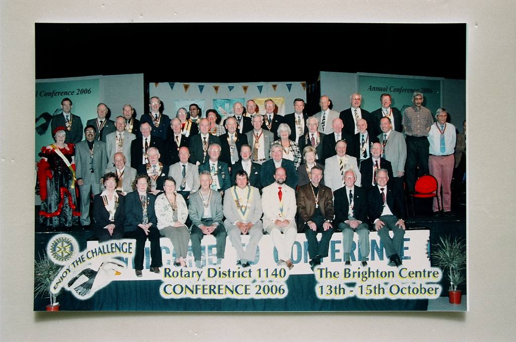 District Conference Oct 2006 -