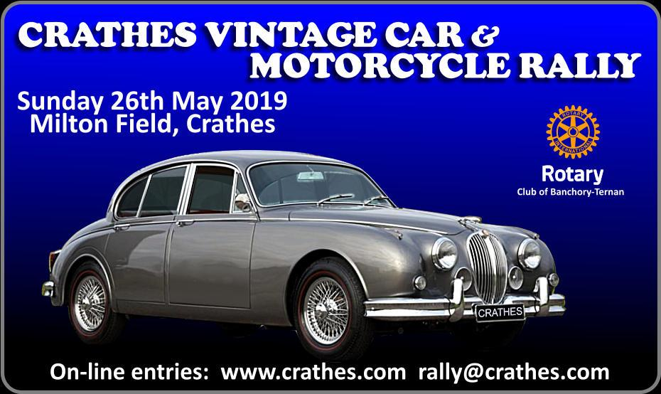 2019 Crathes Vintage Car & Motorcycle Rally -