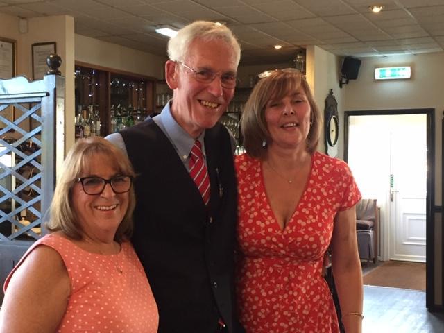 Club Handover - President Trevor hands over to 'The Girls'