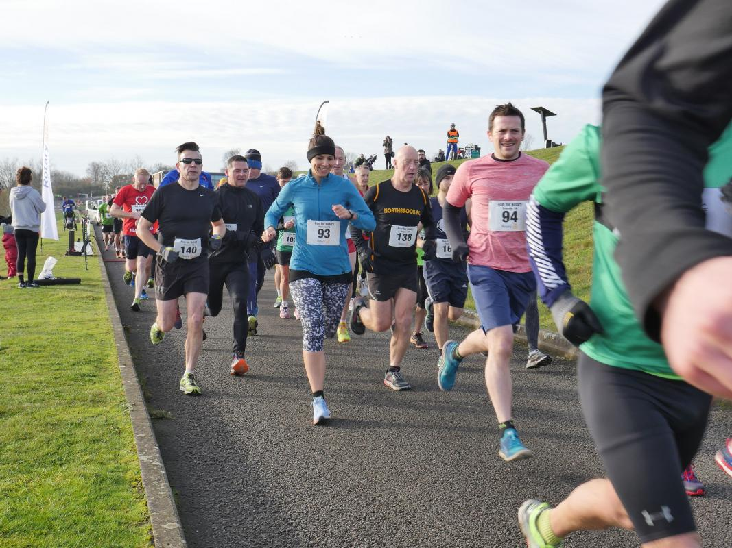 Local Projects - Runners at our annual Run for Rotary