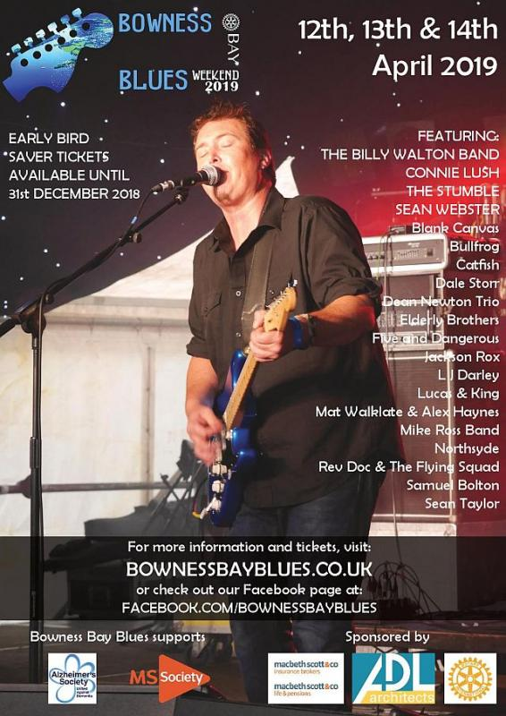 Bowness Bay Blues 2019 - Poster