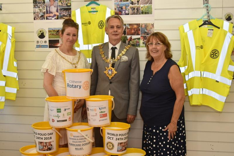 Rotary Shop and Information Centre Opens in Clitheroe -
