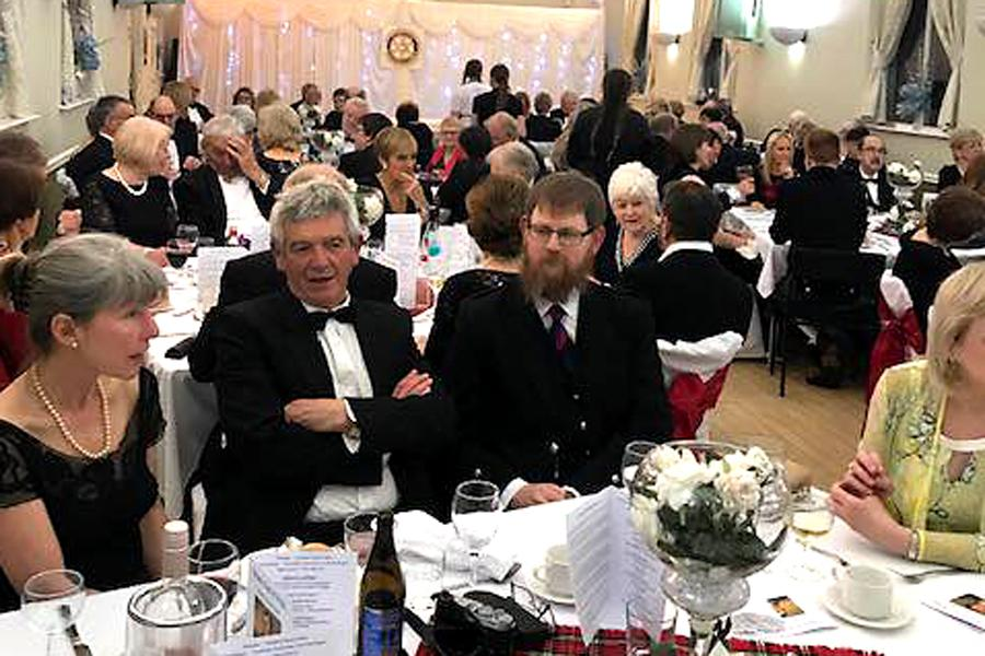 Burns' Night was enjoyed by all -