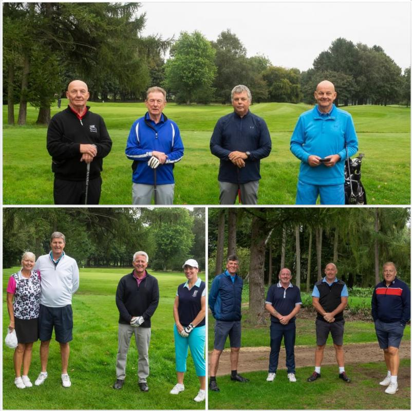 The winning teams at our 2020 Golf Day. The Normanby Salad Dodgers, The Elsham Elves and Chippy's Chumps!