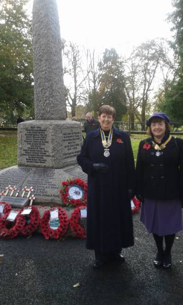 Remembrance at the Prospect -