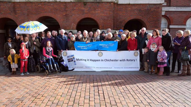 Making It Happen With the Three Chichester Rotary Clubs -