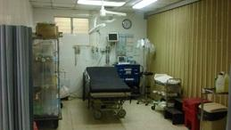 The resuscitation room at KPH
