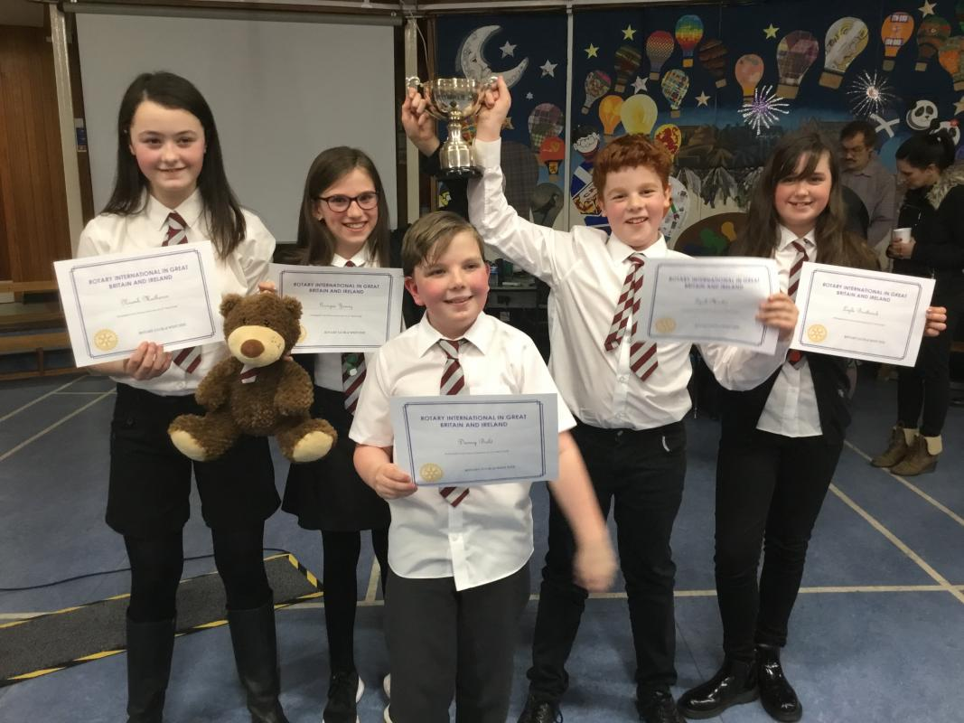 2018 Primary School Quiz - Winners 2018