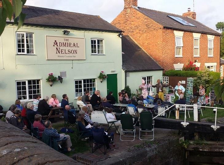 Rotary Walk from the Admiral Nelson in Braunston -