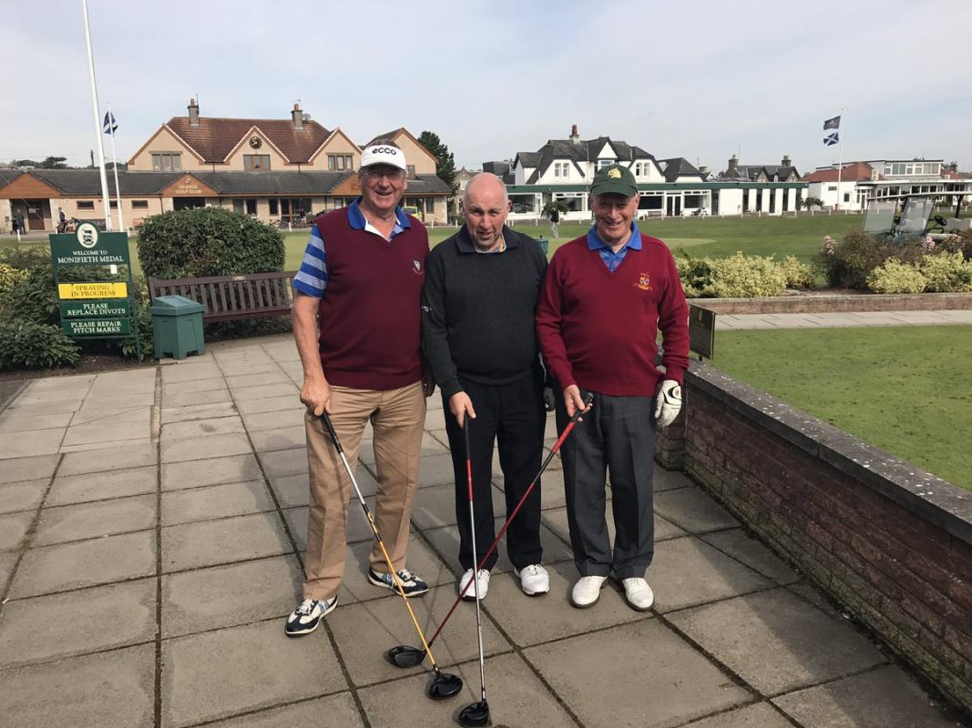 Charity Golf Event 2017 - The Winning team - The Agronomists